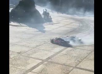 Επίδειξη drift βανδάλισε μνημείο της UNESCO (+video)