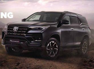 Νέο πισωκίνητο SUV Toyota Fortuner GR Sport