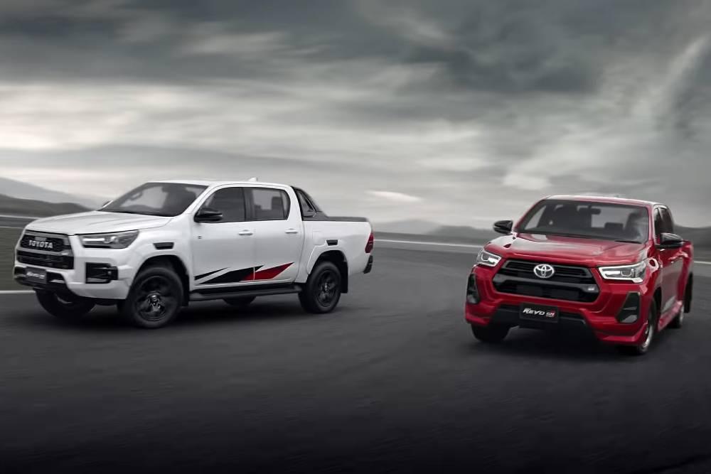 Νέο Toyota Hilux Revo GR Sport και «σαύρα» ανάρτηση