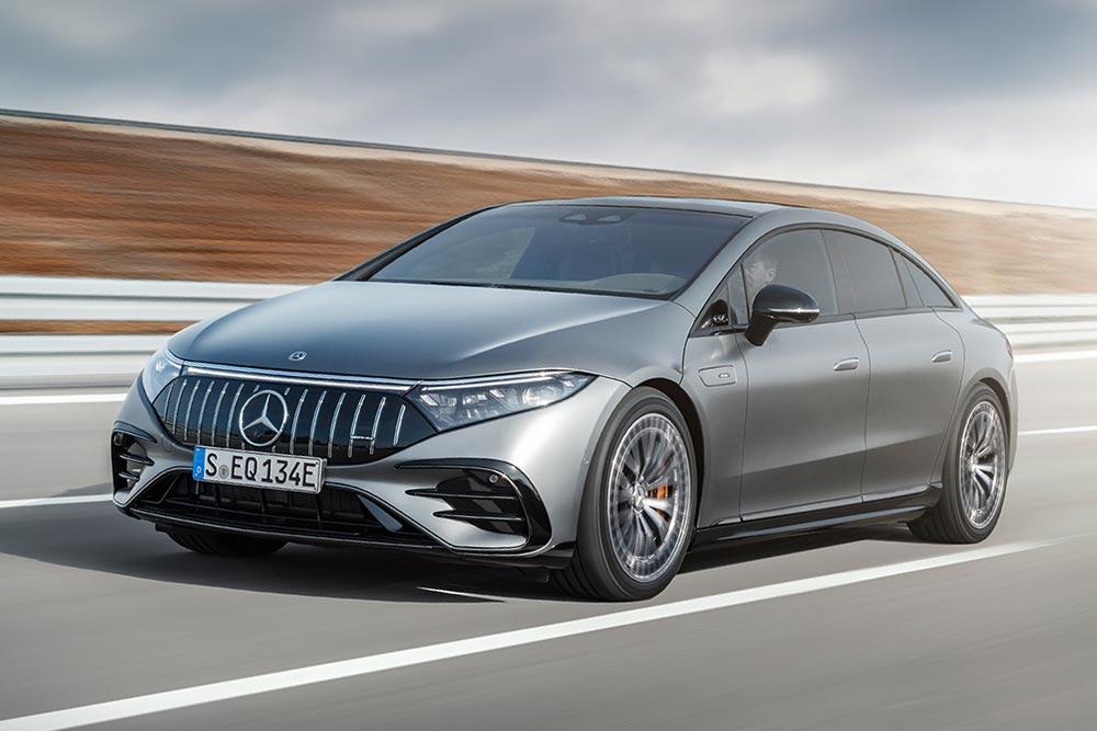 Νέα Mercedes-AMG EQS με 761 ίππους και 1.020 Nm!