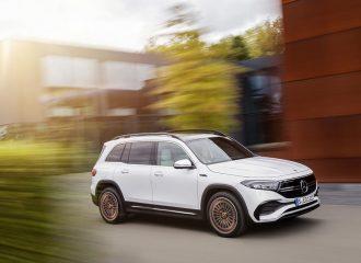 Αποκαλύφθηκε κι η ευρωπαϊκή Mercedes EQB