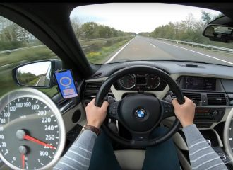 BMW X5M 635HP «τρομοκρατεί» την autobahn (+video)