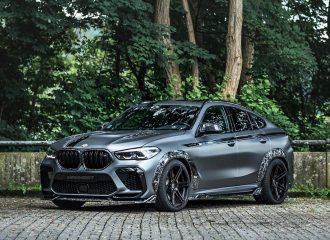 Θεριό ανήμερο η BMW X6 M Competition της Manhart!