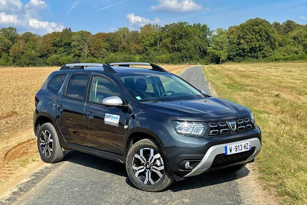 Οδηγούμε στη Γαλλία το νέο Dacia Duster
