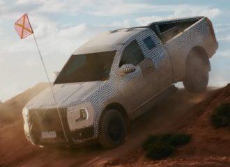 Το νέο Ford Ranger περνάει δύσκολα (+video)