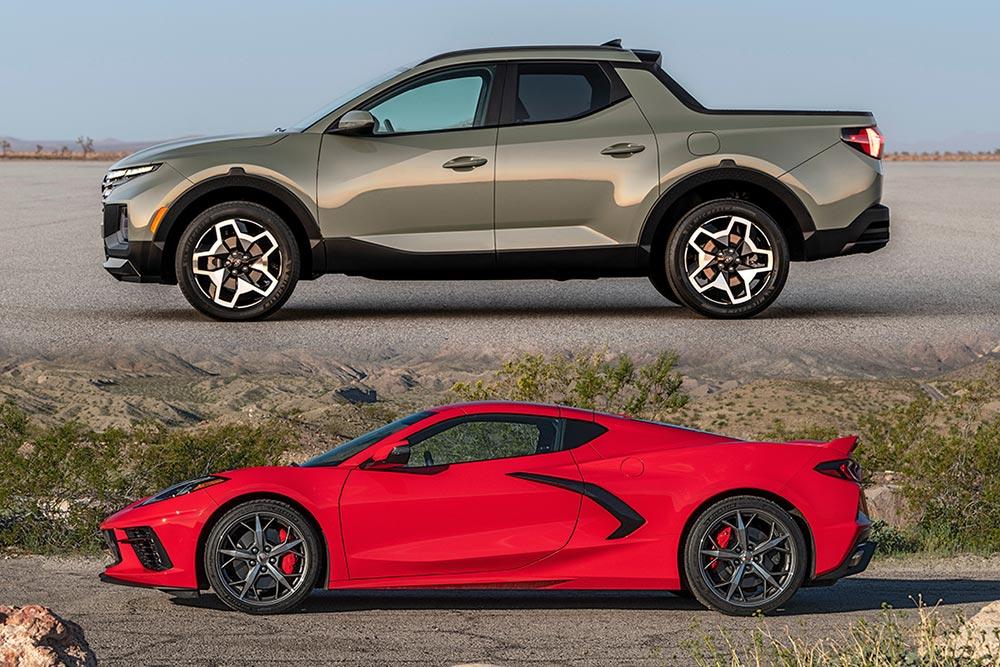 Το Hyundai Santa Cruz «εξοστράκισε» την Corvette