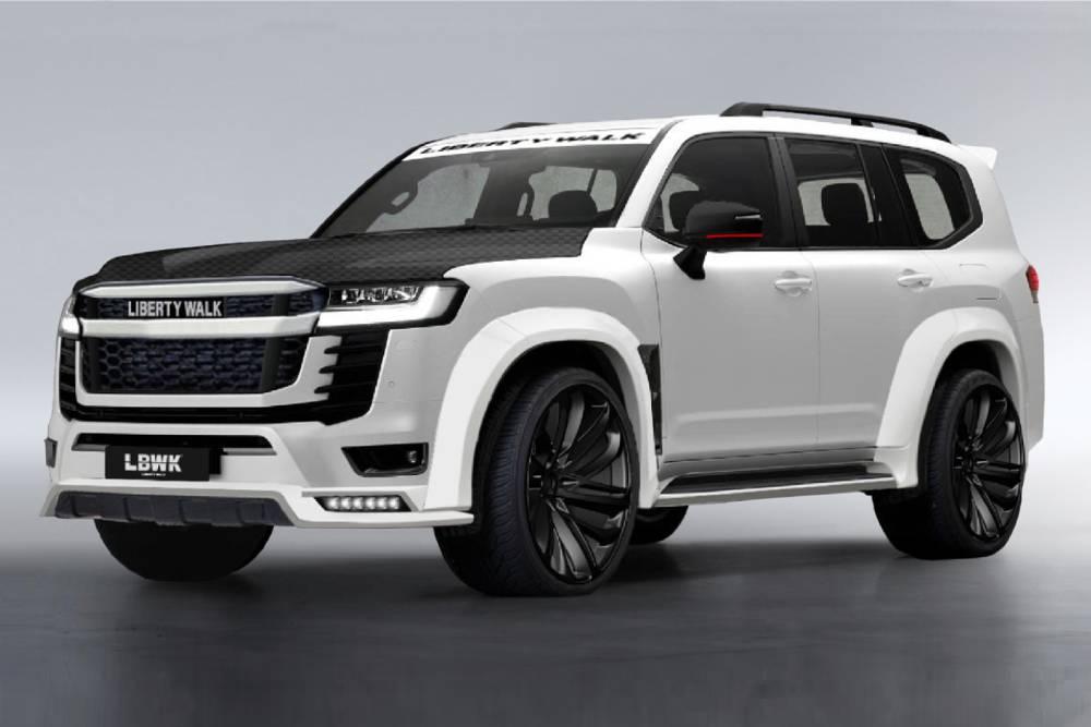 Body kit για το νέο Land Cruiser κοστίζει όσο ένα Yaris