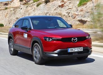 Δοκιμή Mazda MX-30 e-Skyactiv 145 PS