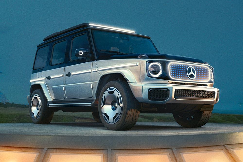 Νέα Mercedes Concept EQG: Η ηλεκτρική G-Class!(+video)