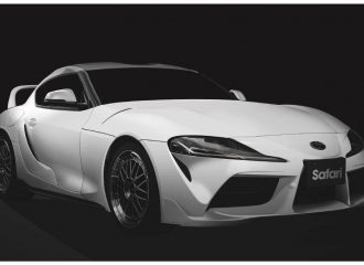 Βελτιωμένη Toyota Supra φόρος τιμής στον Paul Walker
