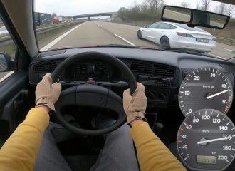 Αθάνατο VW Golf 1.9 D με 1.100.000 χλμ. πάει τέζα!