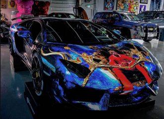 Η Aventador που λατρεύει τον Μάικλ Τζόρνταν!