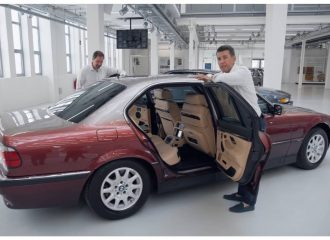 BMW 750iL του '98 έχει μέχρι video player! (+video)