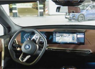 Το BMW iX φορτίζει και πάει για πλύσιμο μόνο του!