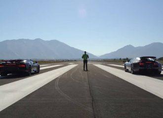 Πόσες καρότσες ρίχνει η Chiron στη Veyron; (+video)