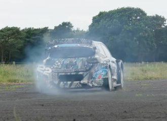 Καμένο λάστιχο με το αγωνιστικό Ford Puma (+video)