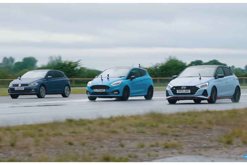 i20 N «πατάει» Polo GTI και Fiesta ST (+video)