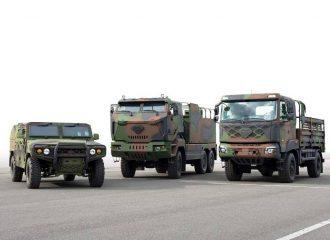 Η Kia εξελίσσει υδρογονοκίνητα στρατιωτικά οχήματα
