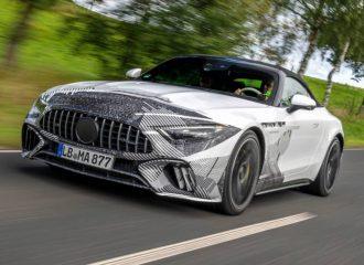 Πιο αιχμηρή από ποτέ η νέα Mercedes SL