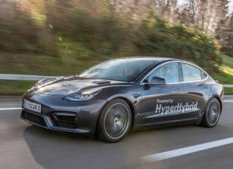 Tesla Model 3 με 1.0λτ. δικύλινδρο βενζίνης! (+video)