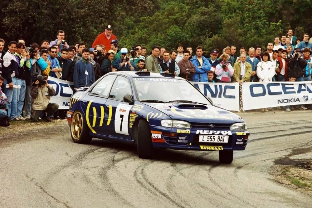 Στο σφυρί το Subaru Impreza των McRae και Sainz