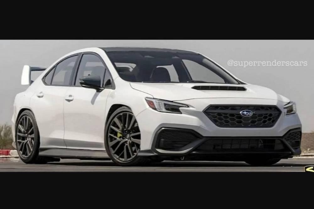 Το νέο Subaru WRX ξύνει την άσφαλτο ως STI