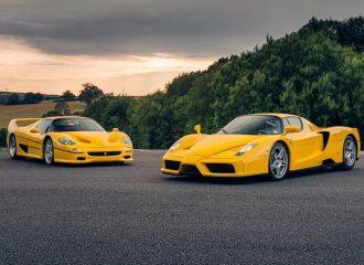 Κίτρινος πυρετός με δίδυμο Ferrari F50 και Enzo