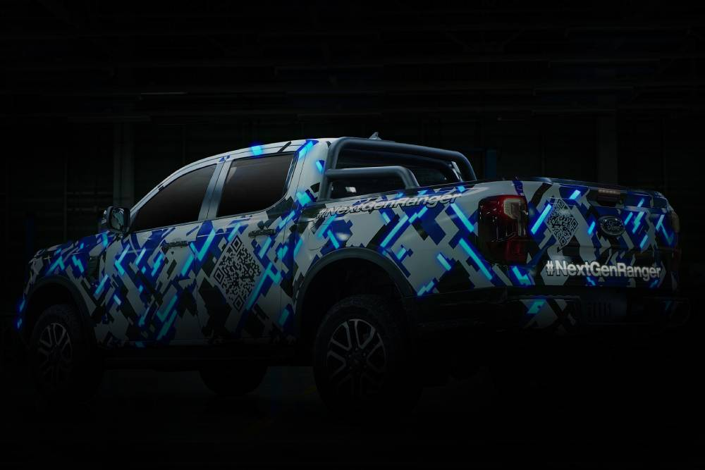 Το νέο Ford Ranger ντύνεται στα γαλανόλευκα (+video)