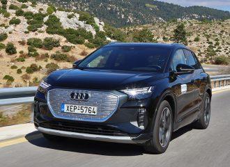 Δοκιμή Audi Q4 e-tron 40 204 PS