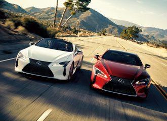 Φρεσκάρισμα για το Lexus LC500 & LC500h