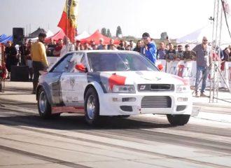 Παγκόσμιο ρεκόρ από Audi S2 1.500 ίππων (+video)