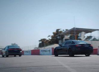 Audi S8 αφήνει σύξυλη Maserati Quattroporte (+video)