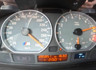 «Λύσσα» με BMW M3 E46 V10 (+video)