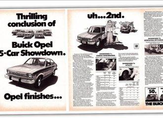 Όταν η Opel διαφήμιζε τη δεύτερη θέση