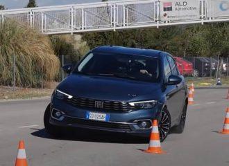 Χωρίς άγχος το Fiat Tipo στον τάρανδο (+video)
