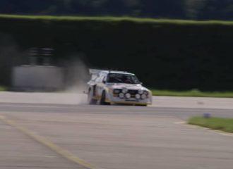 Ο Ken Block «ξεμπουκώνει» το Audi Quattro S1 (+video)