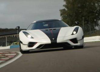 Η Koenigsegg «έσβησε» ρεκόρ της McLaren (+video)
