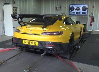 Ασυγκράτητη στο δυναμόμετρο η AMG GT Black Series