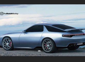 Με ρετρό αναφορές η νέα Porsche 928