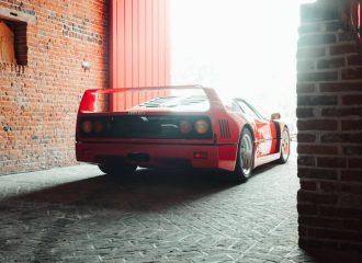 Ferrari F40 δεν έχει δει τον ήλιο 30 χρόνια